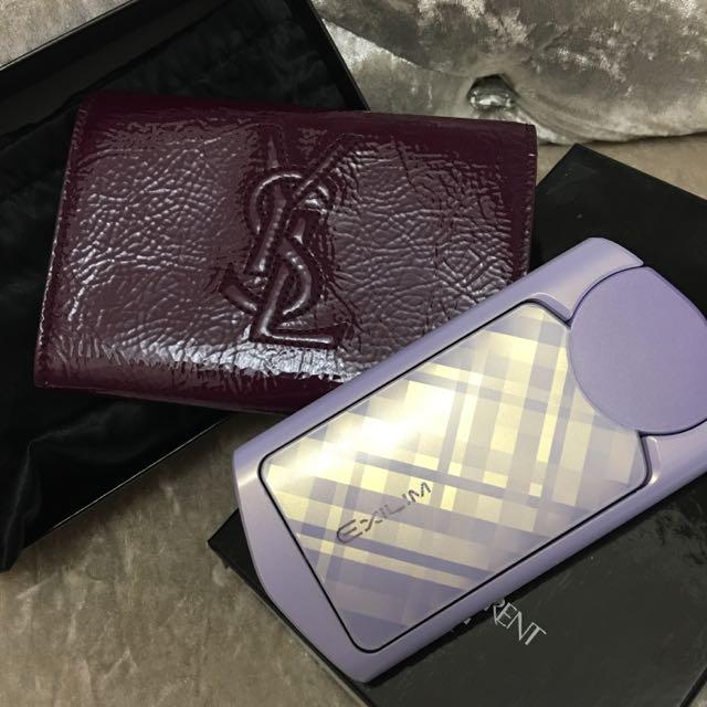 YSL TR60、70漆皮相機包 零錢包