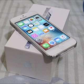 iPhone5 白色 32gb 95%新