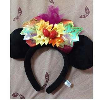 2013 Disney land 迪士尼 萬聖節變裝米妮髮箍