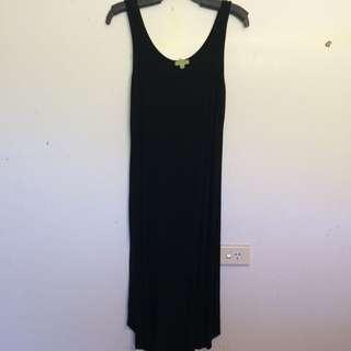 Black Hi Lo Dress