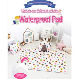 100% PURE COTTON QUILTED SOFT & COMFORTABLE Waterproof Pad - Antibacterial/Deodorization Processed