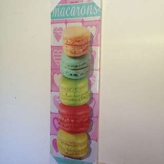 Macaroons Canvas