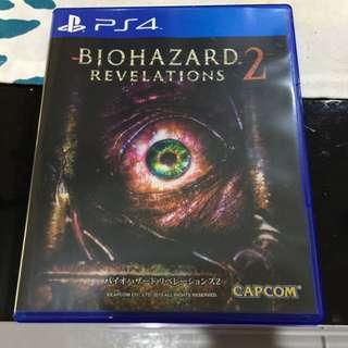 PS4 惡靈古堡 啟示錄 2