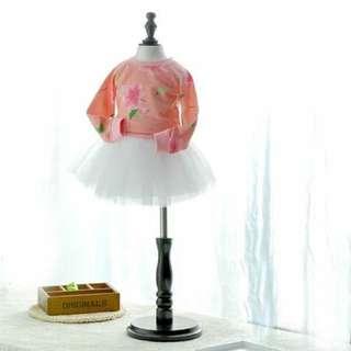 韓公主風蓬蓬紗裙,小女孩必備