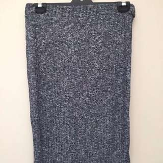 Cotton On Midi Grey Marl Skirt