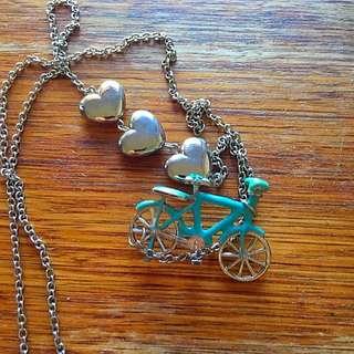 Cute Bike Necklace