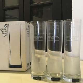 6 Rekorderlig Cider Pint Glasses