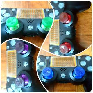 PS4 Dualshock 4 Analog Stick Replacement Buttons (XBOX One type Sticks) WITH Installation! (READY Stocks!!)