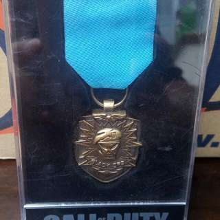 Call Of Duty Black Ops Medal In Case