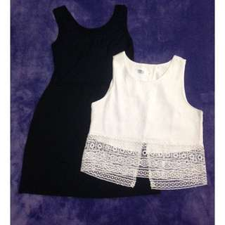 洋裝 連身裙+小罩衫一套
