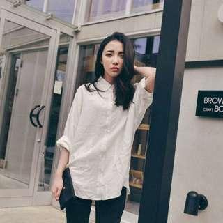 Queen Shop 白襯衫