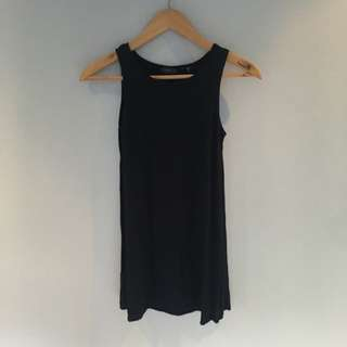 NAVY Blue Shift Dress XS