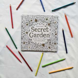 Brand New Secret Garden Colouring Book