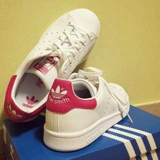 Adidas Stan Smith 愛迪達 史密斯 白紅 男女鞋款