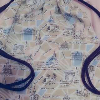 簡約帆布束口袋(可議價)