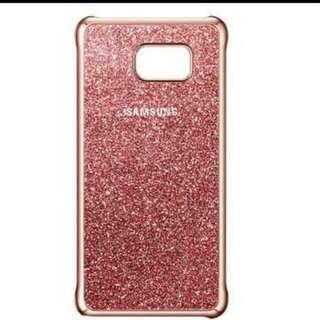 Samsung Galaxy Note5 原廠粉色星鑽薄型背蓋