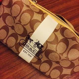 🚚 便宜賣$1000💕 COACH 時尚經典 宴會 趴踢 逛街 時尚手拿手背包