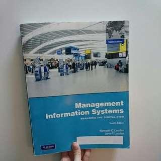 管理資訊系統 Management Informatiom Systems 原文書