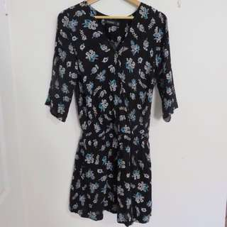 GLASSONS FLORAL DRESS