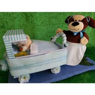 Baby Cake - Baby Shower Gift - Christening - Nursery Decor
