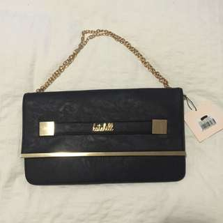 Brand New Kate Hill Flap Cover Clutch