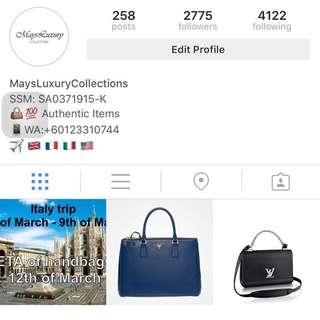 Preorder LV handbags
