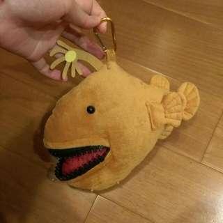 深海燈籠魚 拉鍊 娃娃 零錢包