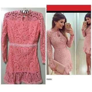 pink dress. negotiable