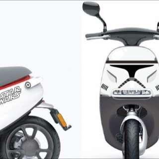 打造gogoro專屬個人化面板-3M保護貼保證不纏膠