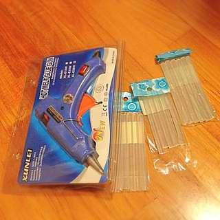 Glue gun With Glue sticks