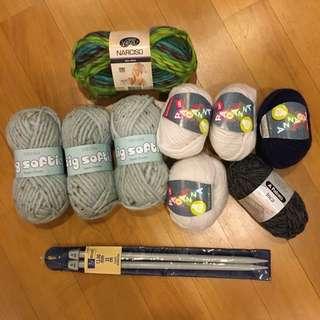 Knitting Yarn (SIRDAR, PATONS etc)