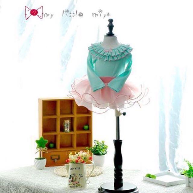 超級夢幻小公主玻璃蓬蓬紗裙
