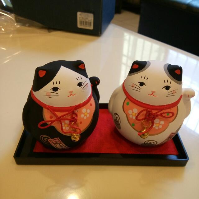 日本知名藥師窯招財貓