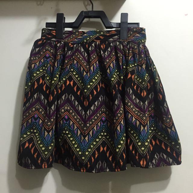 民俗風短裙