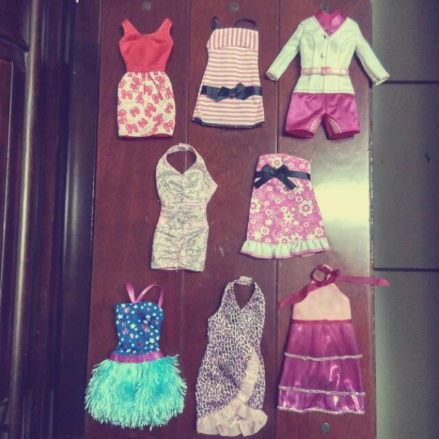 芭比娃娃 服裝 裙子 套裝 禮服 配件