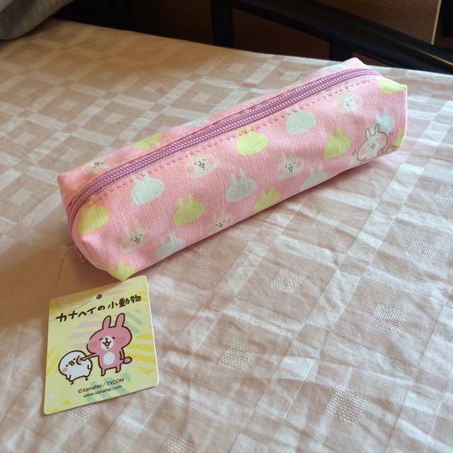 可愛 正版 卡娜赫拉 kanahei 兔兔 袋 筆袋 包 日本帶回
