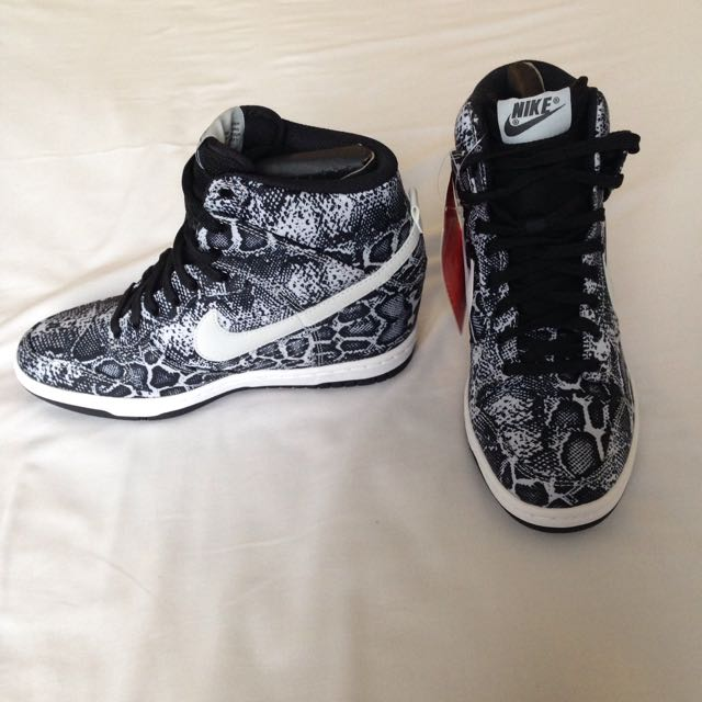 Brand New Nike Sky-Hi Wedges, Womens Fashion on Carousell