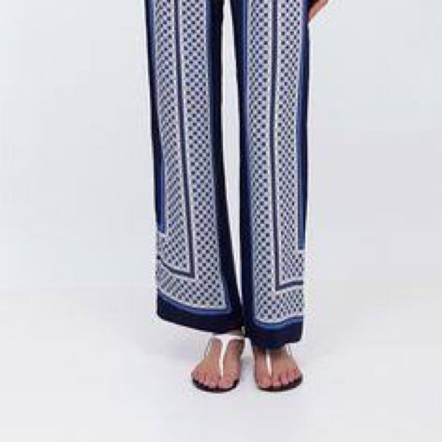 Country Road Silk Pants, Size 6