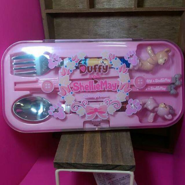 Duffy 達菲 雪麗枚 迪士尼 真品全新餐具