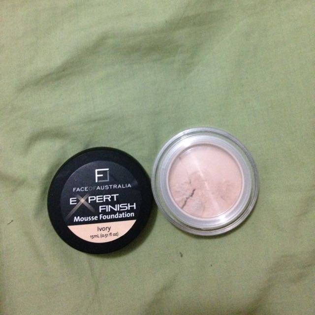 Face Of Australia Mousse Foundation