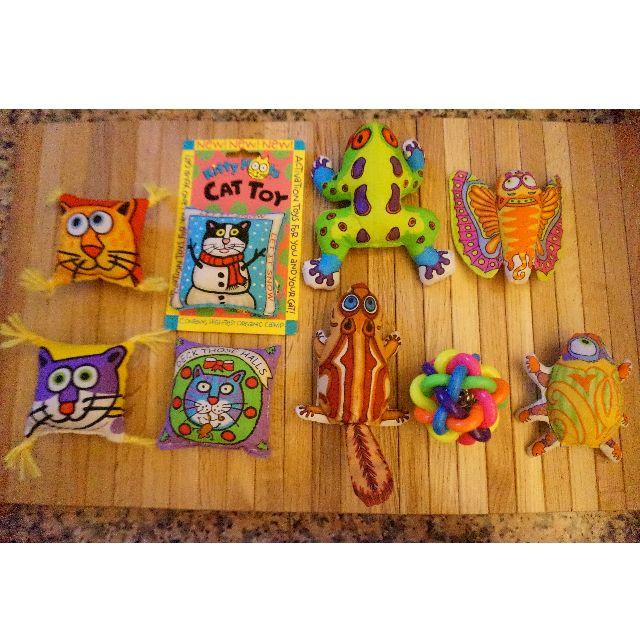 FatCat® Catnip / Weave Ball Toy