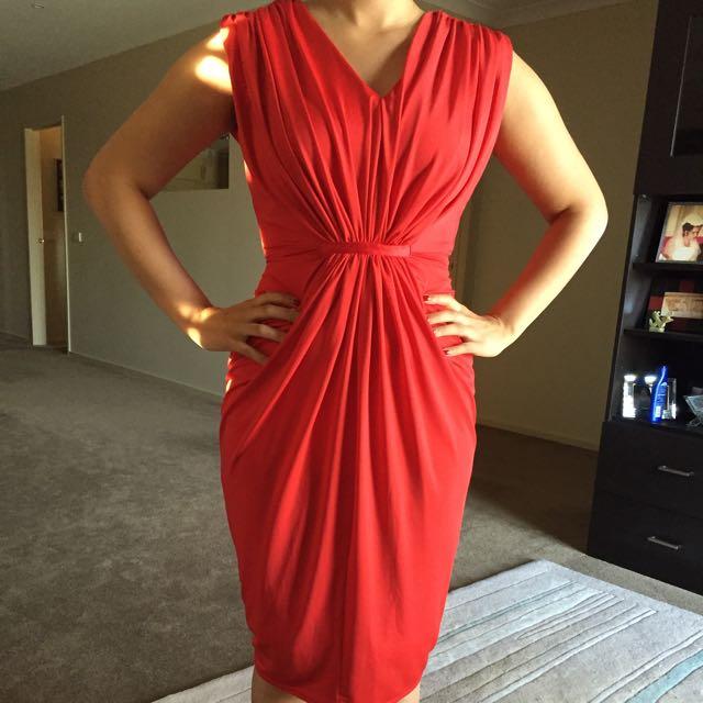 Forecast Red Dress