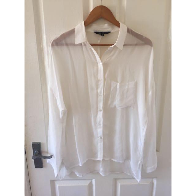 Glassons Oversized White Shirt