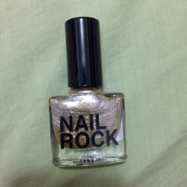 Gold Nail polish Never Used
