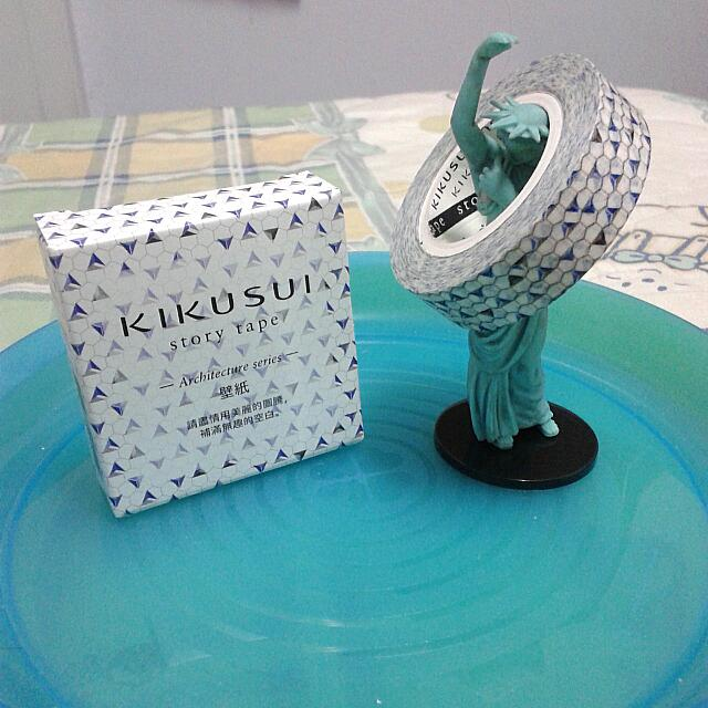 KIKUSUI菊水 紙膠帶 - 建築系列 . 壁紙