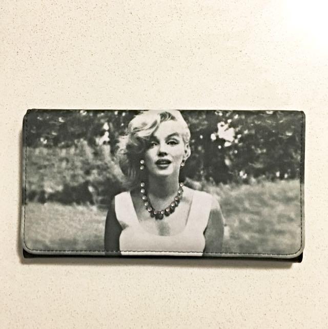 New Marilyn Monroe Black Wallet