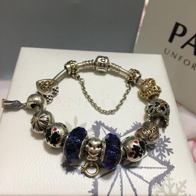 Pandora灰姑娘玻璃鞋&南瓜馬車