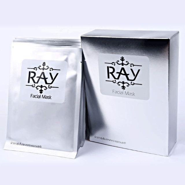 RAY 蠶絲面膜(銀)❣10片裝