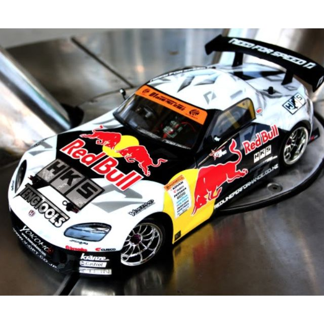 Redbull Allstar Drift Series 1 10 Rc Car Decal Sticker Drift