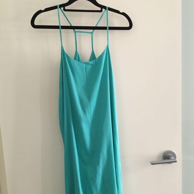 Staple Turquoise Dress